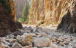 The most impressive gorges for walking trips